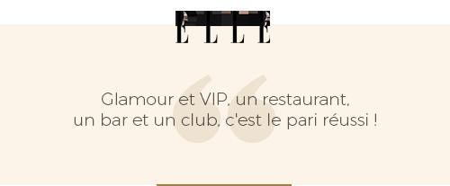 critique presse du magazine elle sur le bâoli cannes un restaurant un bar un club glamour et vip