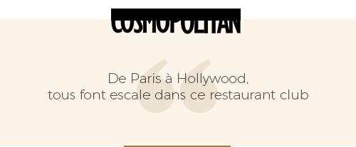 avis cosmopolitan sur le bâoli cannes restaurant et club