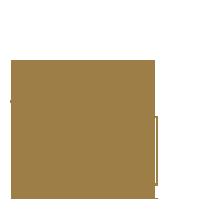 logo bâoli palmier avec une boule dorée